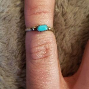 Teeny Turquoise Ring